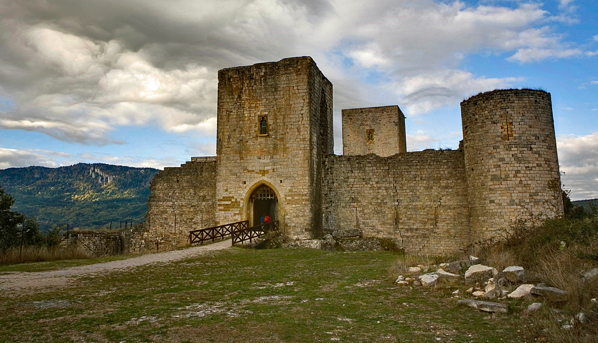 Cathar Castles – Chateau View, Quillan