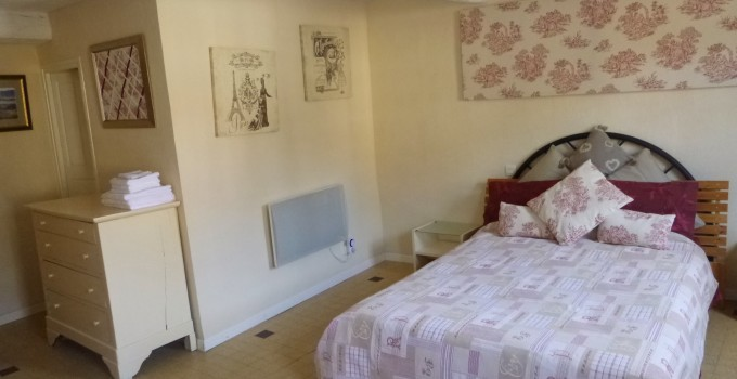 Chambre de la rivière / River Bedroom