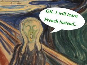 scream - let me learn French!