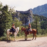Horse riding near Quillan