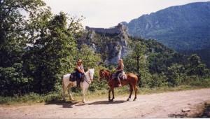 Horse riding near Quillan